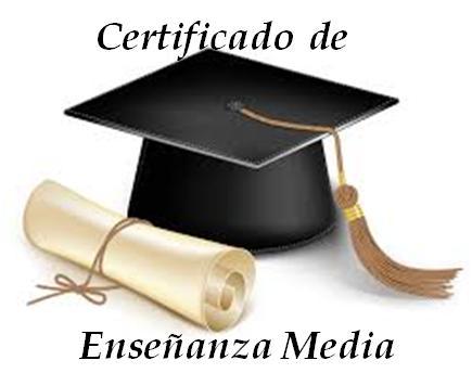 Certificado de Enseñanza media