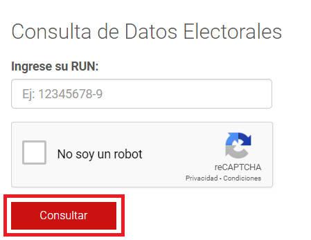 botón consultar
