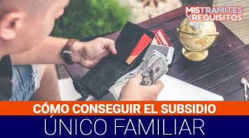 Subsidio único familiar RUT