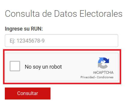 validadción reCAPTCHA 2