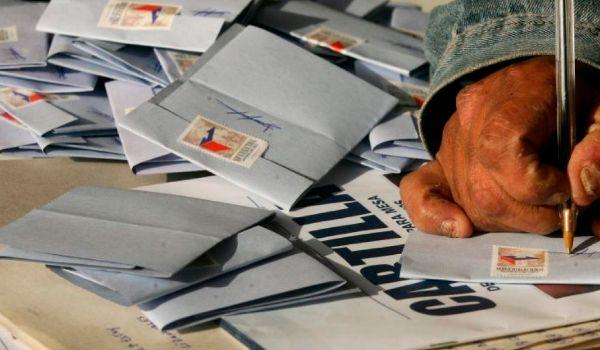 escrutinio de votos en chile