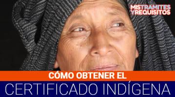 Certificado indígena