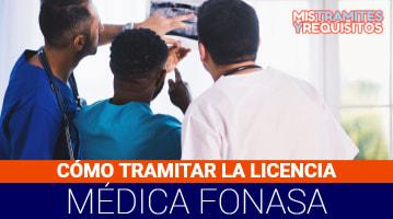 Licencia Médica Fonasa