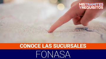 Conoce las principales sucursales de Fonasa en Chile