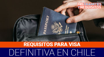 requisitos para visa definitiva