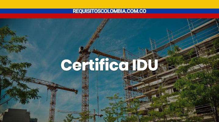 Certifica IDU