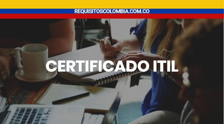 Certificado ITIL