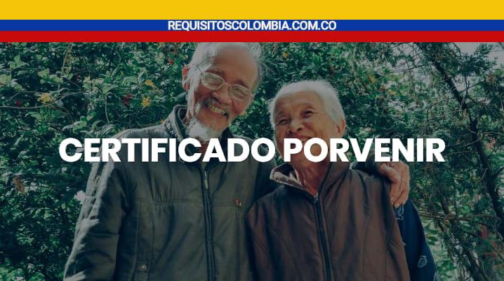 Certificado Porvenir