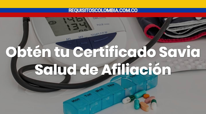 Certificado Savia Salud