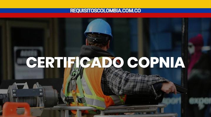 Certificado copnia