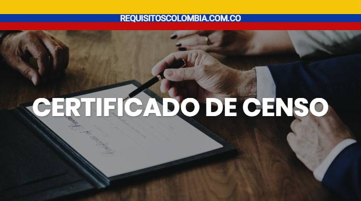 Certificado de censo