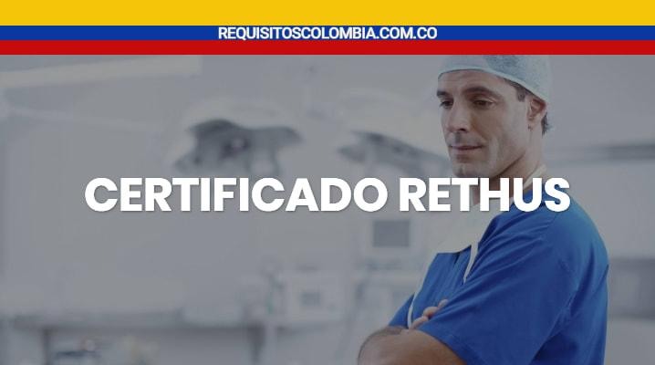 Certificado rethus