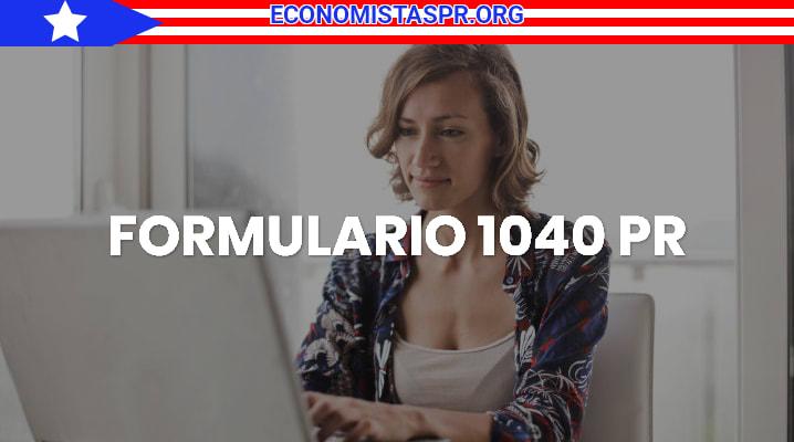 Formulario 1040 pr