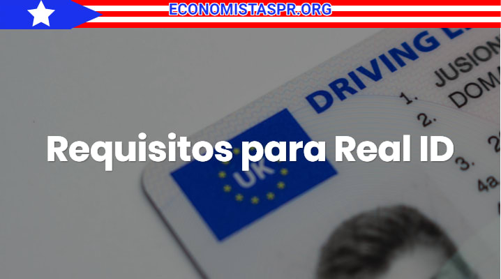 Requisitos para Real ID