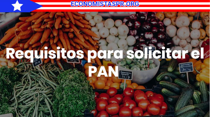 Requisitos para solicitar el PAN