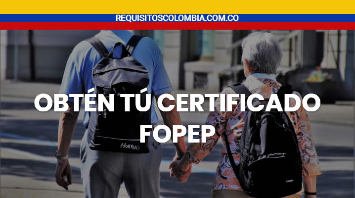 Certificado FOPEP