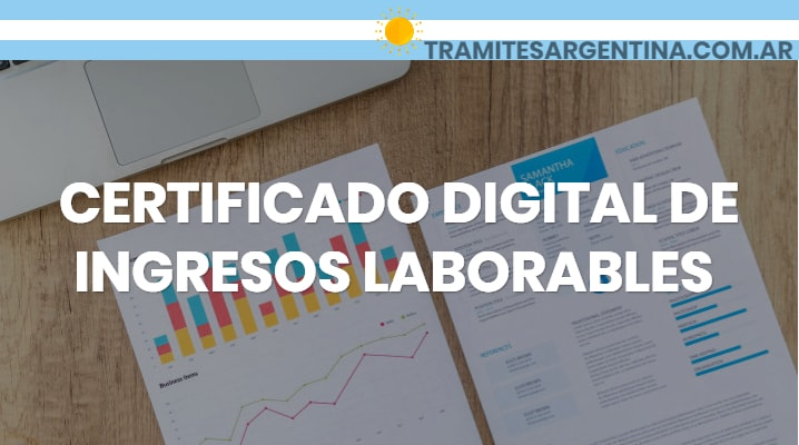 Certificado digital de ingresos laborales