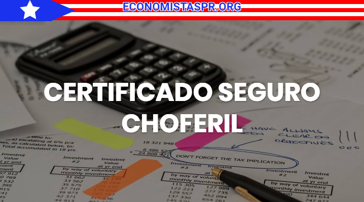 Certificado seguro choferil