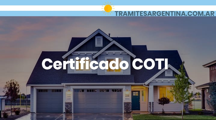 Certificado COTI