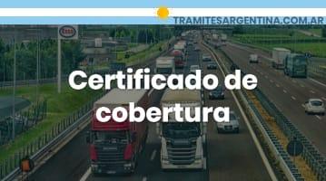 Certificado de cobertura