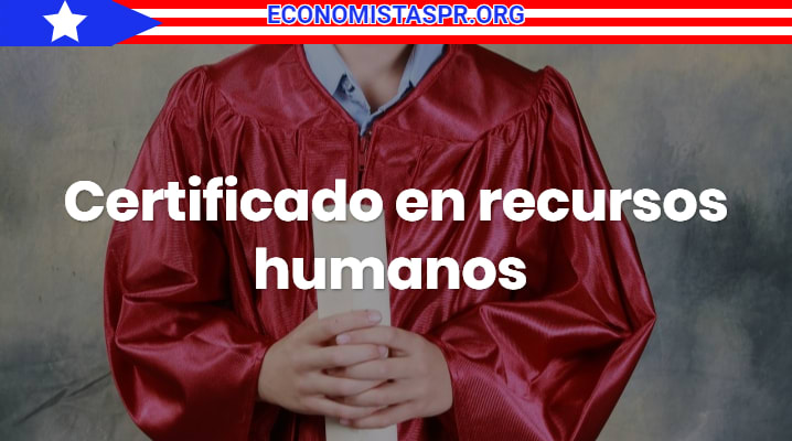 Certificado en recursos humanos