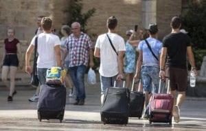 Certificado nacional de autorización para agencias de turismo estudiantil estudiantes maleta