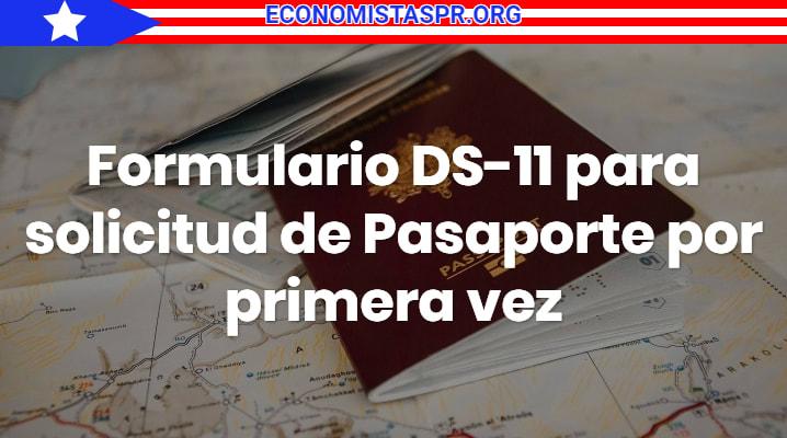 Formulario DS-11