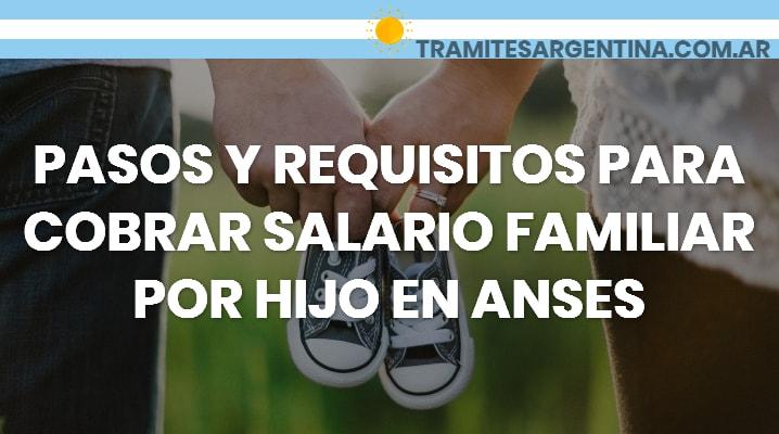 Requisitos para cobrar salario familiar por hijo