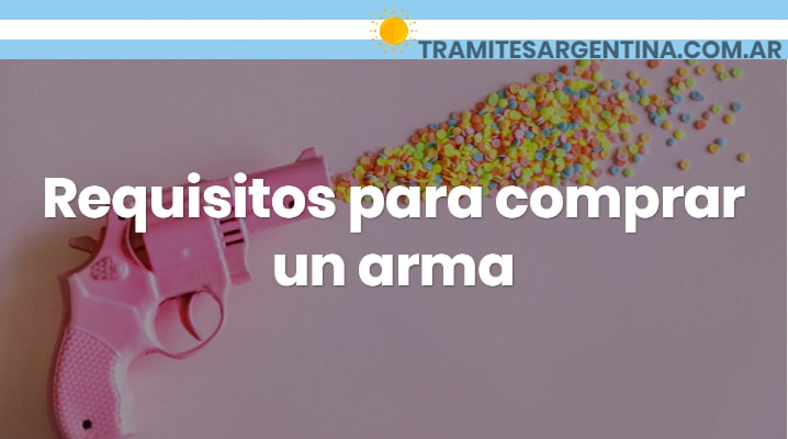 Requisitos para comprar un arma