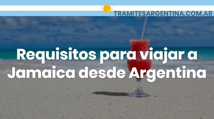 Requisitos para viajar a Jamaica desde Argentina
