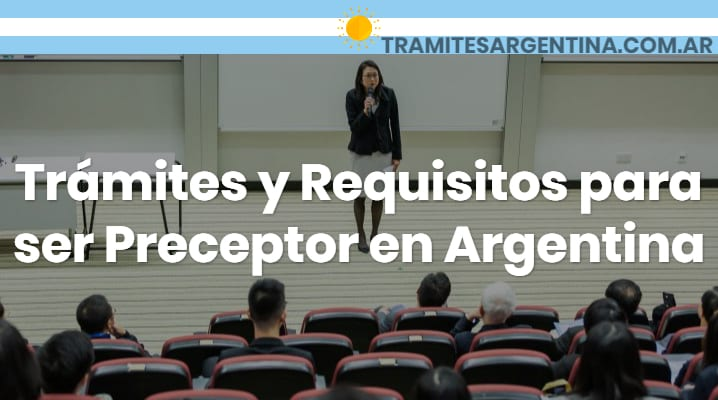 Requisitos para ser preceptor