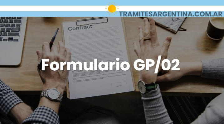 Formulario GP/02