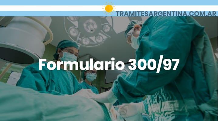 Formulario 300/97