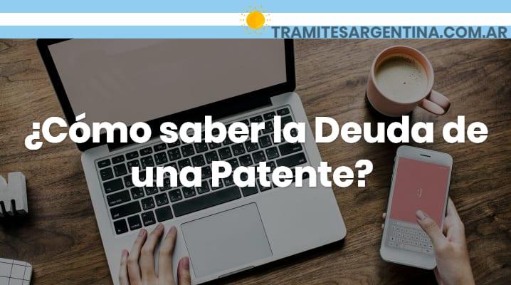 Como saber la deuda de patente