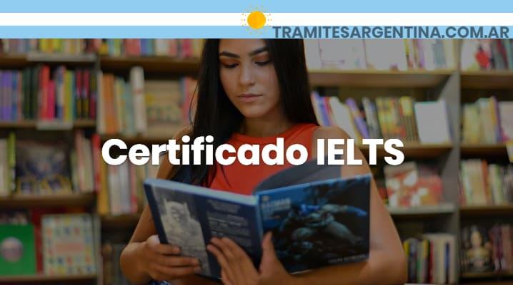 Certificado IELTS