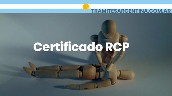 Certificado RCP
