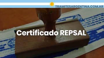 Certificado REPSAL