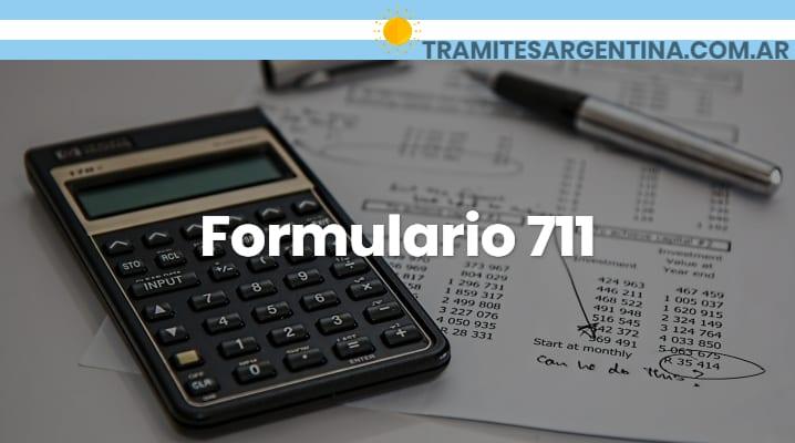 Formulario 711