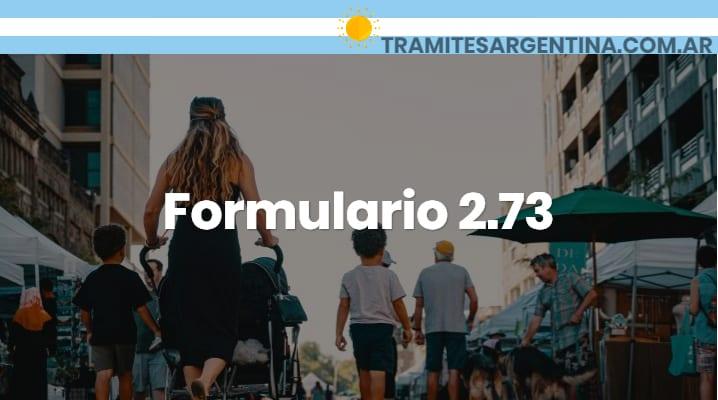 Formulario 2.73