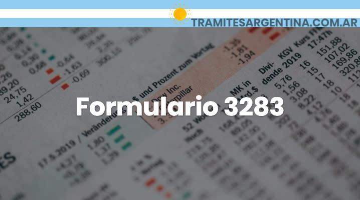 Formulario 3283