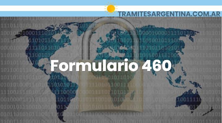 Formulario 460