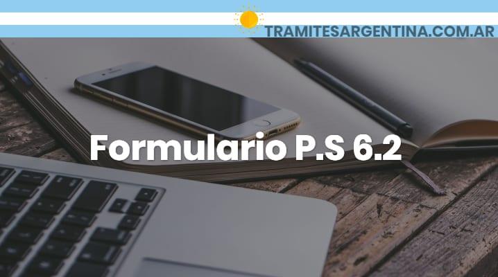 Formulario P.S 6.2