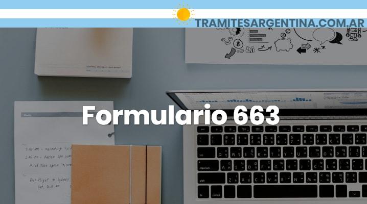 Formulario 663