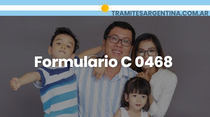 Formulario C 0468