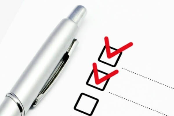 checklist certificado de residencia