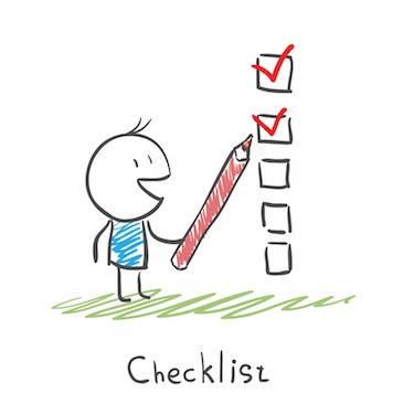 checklist requisitos para viajar a chile
