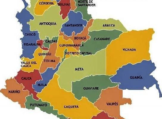 colombia con sus departamentos como saber mi codigo postal