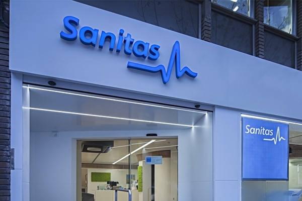 entrada clinica sanitas certificado sanitas
