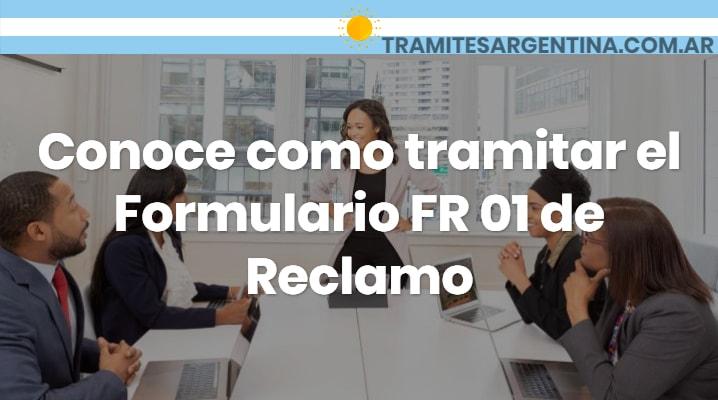 Formulario FR 01