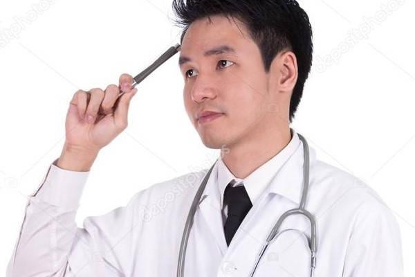 Certificado ley HIPAA medico pensando